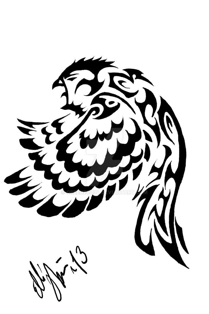 Tribal owl tattoo desing by greeneco94 on deviantart for Tribal owl tattoo