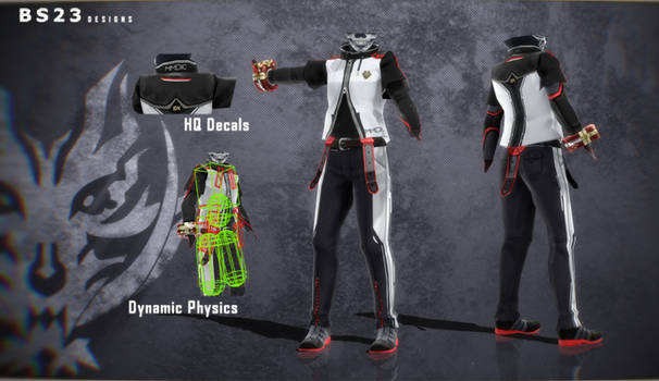 [MMDIC x GEIB] Male Uniform +DL