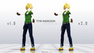 [MMD] OC Request : Maroon v2.0 DL by Kevin-BS23