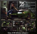 [MMD] Ultimate Zell Pack DL!