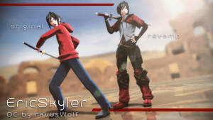[MMD] SPECIAL OC Request : Eric Skyler by Kevin-BS23
