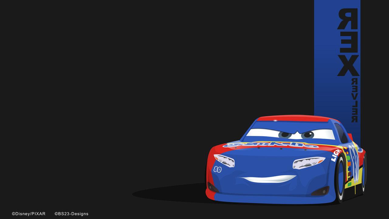 Rex Revler Cars 3 Minimalist Wallpaper 4k By Bs23 Designs On