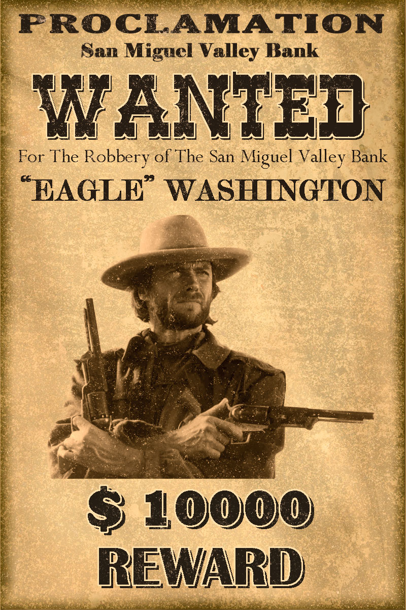 Old Wanted Poster Template Dalarconcom Classic Western Wanted Poster By  Mt991798 D3l60ub Old Wanted Poster Template