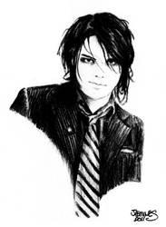 Gerard Way by XBlackFerretX