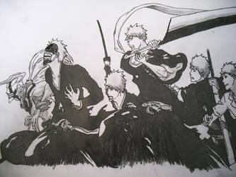 Ichigo's Transformations by StubbornNinja
