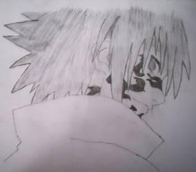 Uchiha Sasuke Curse Mark by StubbornNinja