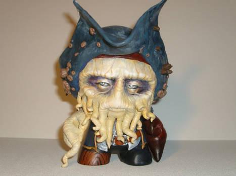 Davy Jones Munny by MallorySmallory