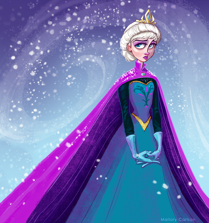 Elsa the Snow Queen by MallorySmallory