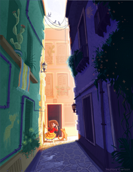 The Alley by MallorySmallory