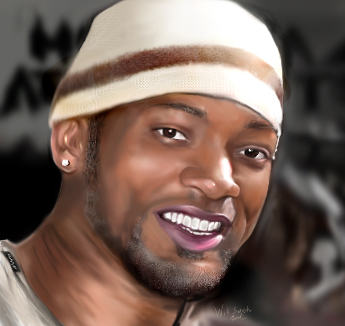 Will Smith Digital Painting by Paul915