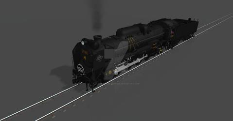 Galaxy Railways D51 951 - GE951 The Lone Wolf