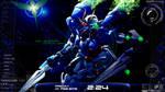Gundam 00 Rainmeter Desktop