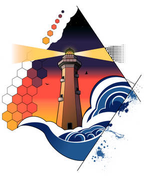 Graphic Lighthouse