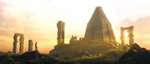 Mayan Ruins - long shot