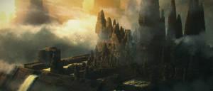 Ancient City of Dereshar - Sunset