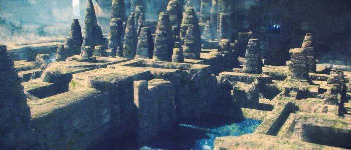 Ancient City of Dereshar - Daylight 01