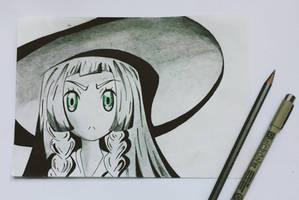 Lillie (Pokemon SM) by TruiArts