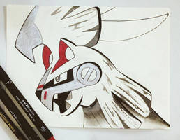 Silvally Sketch by TruiArts