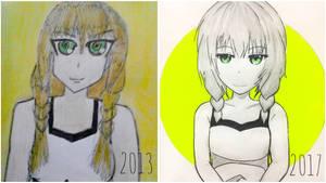 Draw it again 2 - Viola by TruiArts