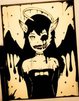 Alice Angel (Bendy and the Ink Machine) by TruiArts
