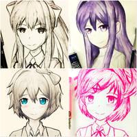 Doki Doki Compilation by TruiArts