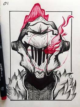 Inktober 2019 Day 1 - Goblin Slayer