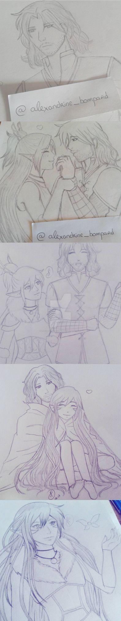 Insta-sketch by LadySlyOfCastelmore