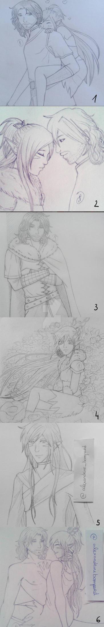 Insta-sketch II by LadySlyOfCastelmore