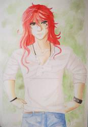 Klaus watercolor