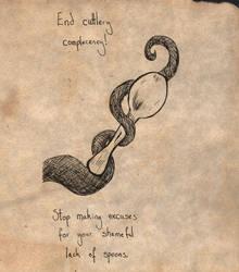 Spoon by Nimue-Brown