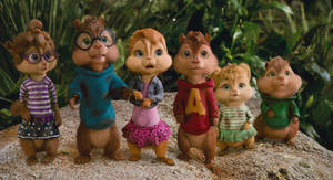 The chipmunks and chipettes