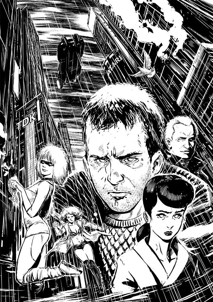 Blade Runner by Smolb