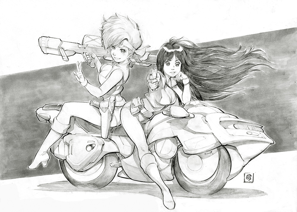 Dirty Pair by Smolb