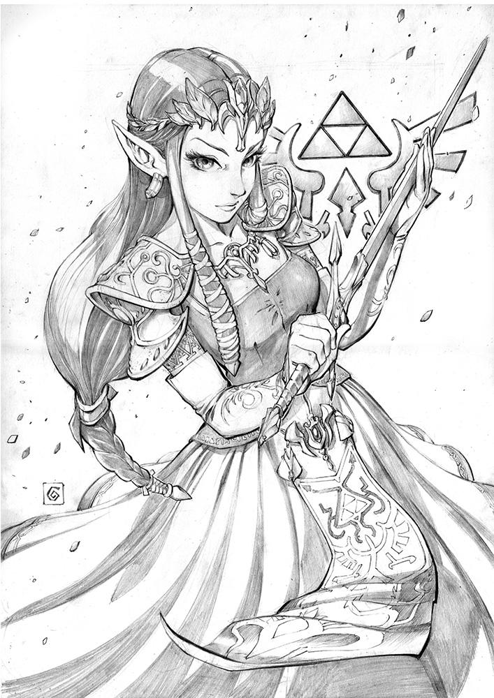Princess Zelda by Smolb on DeviantArt