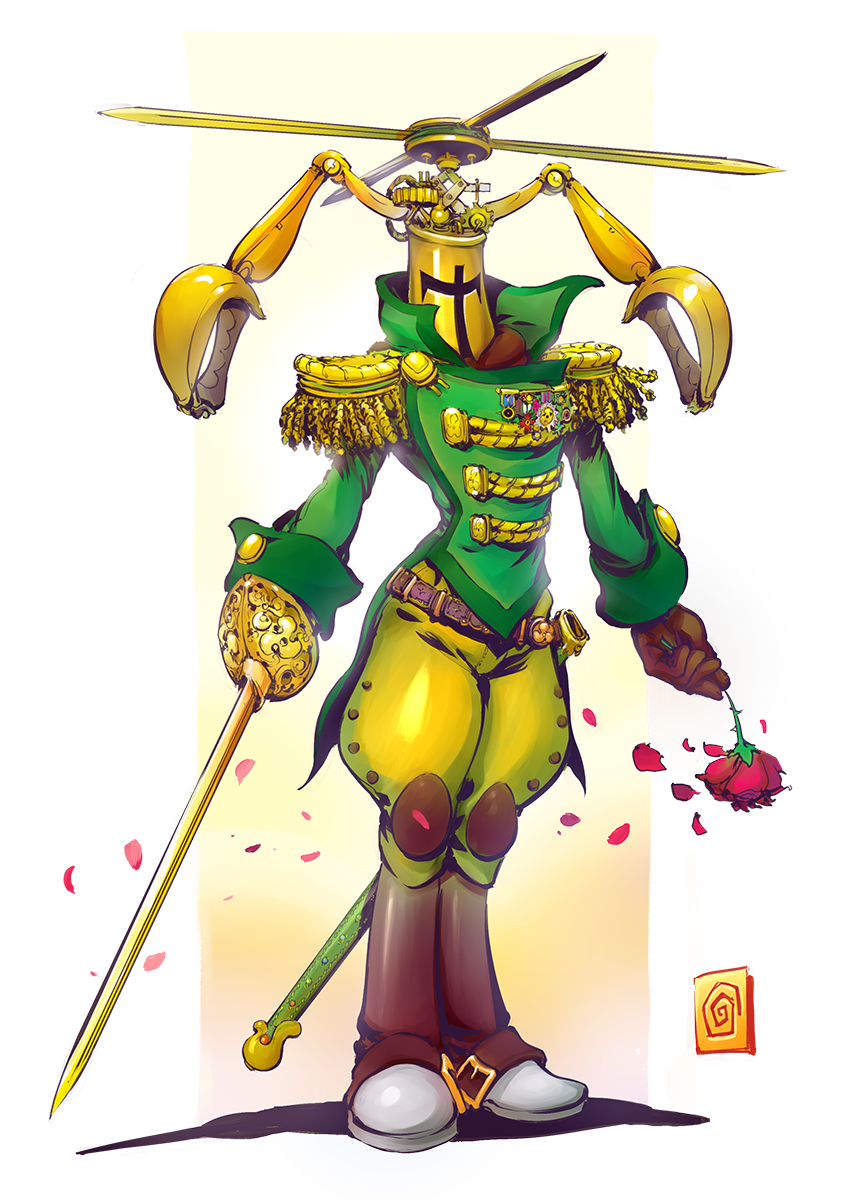 Propeller Knight By Smolb On Deviantart
