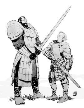 Mountain VS Brienne