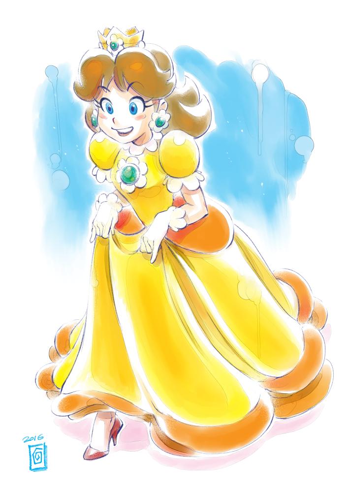 Princess Daisy by Smolb