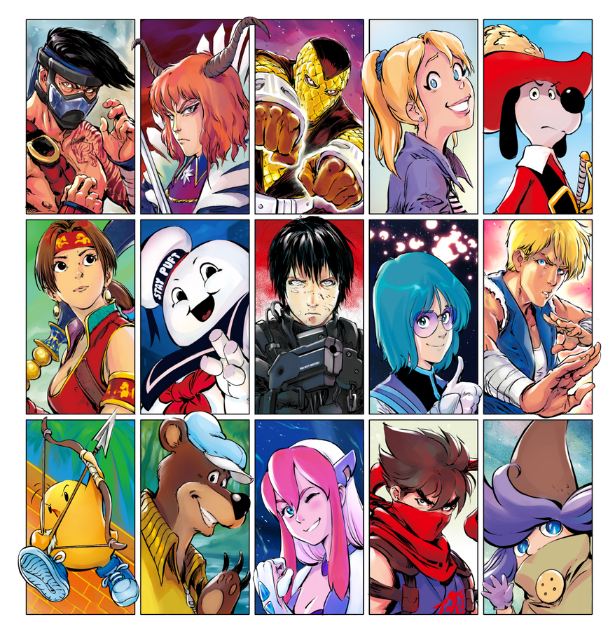 Guess My Favourite Characters 4 by Smolb