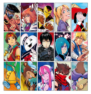 Guess My Favourite Characters 4