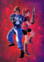 Resident Evil 2 by Smolb