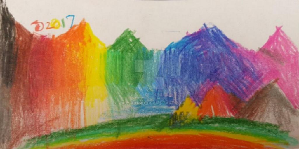 The Rainbow Peaks