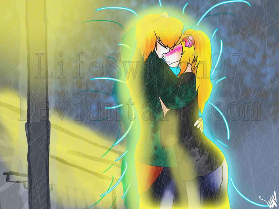 Helga and Arnold- Just a Kiss by Zubwikawa