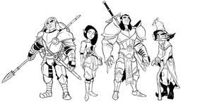 RollPlay: Solum Fanart by DungeonSubordinate