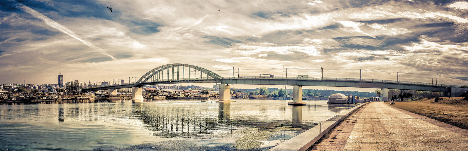 Panorama tramvajskog mosta by Srdjan011