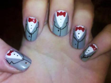 Pee Wee Herman Nails