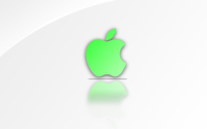 wallpaper green apple. Green Apple Wallpaper by