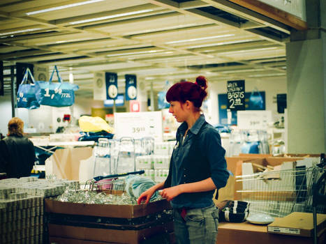 all lost in the supermarket