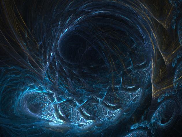 Blue Embryo by Oggleboppiter