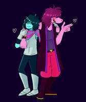 Kris and Susie by this-is-an-error-14