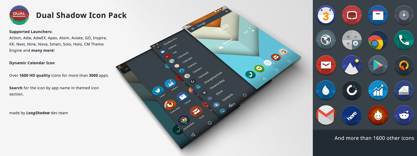 Dual Shadow Icon Pack by eboye
